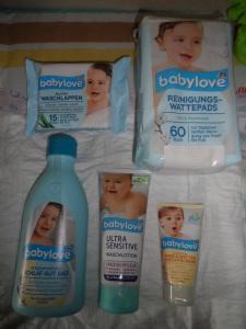 DM Babylove Produktpaket - Teil 1