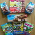Süßigkeiten-Paket zu gewinnen 1