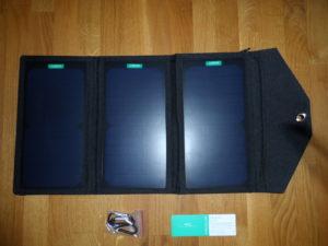 AUKEY Solarladegerät (8)
