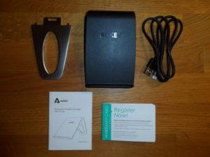 AUKEY Wireless Ladegerät Qi mit drei Spulen (8)
